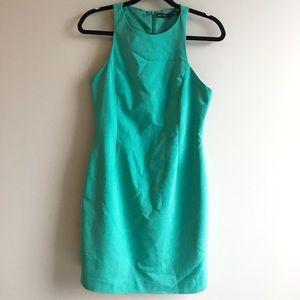 Zara basics shift dress